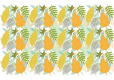 Free vector Leaf Pattern Background #13245