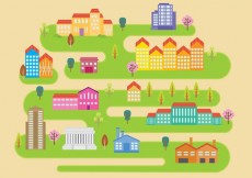 Free vector Little City Vector #13283