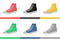 Free vector Mens Shoes Vectors #14468