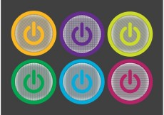 Free vector On Off Button Vector Pack #19913