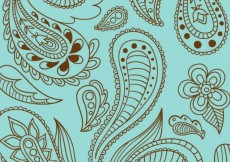 Free vector Paisley background #16809