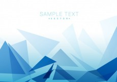 Free vector Polygonal blue background #14133
