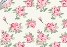 Free vector Roses pattern #13040