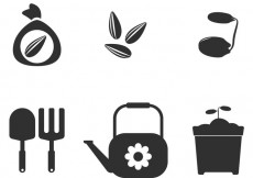 Free vector Seed Vector Icons #17060