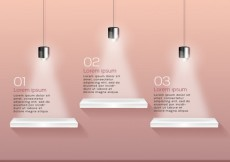 Free vector Shelves infographic #15152