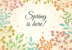 Free vector Spring vegetation background #13830