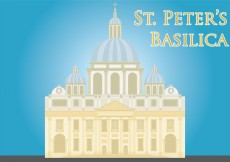 Free vector St Peters Basilica Vector #14240