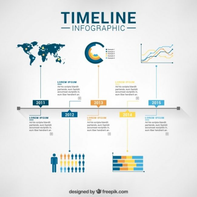 Free Vector Timeline Infographic Template My Graphic Hunt - Timeline infographic template