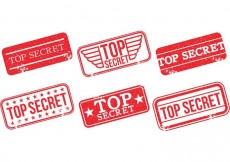 Free vector Top Secret Stamp Vectors #13673