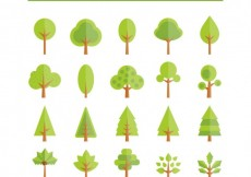 Free vector Trees icons #15532