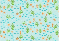 Free vector Under the Sea Repeat Pattern #16842