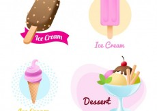 Free vector Varity of ice creams #14467
