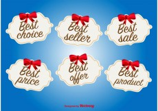 Free vector Best Offer and Deal Labels #13189