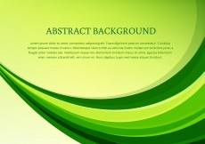 Free vector Vector green wave background #12712