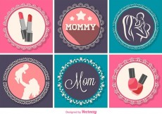Free vector Mother's Day Graphic Decorations #19391