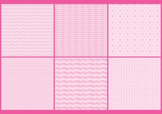 Free vector Pinky Girly Patterns #16314