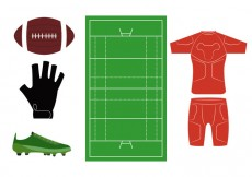 Free vector Rugby Icons #14507