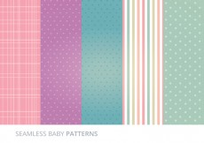 Free vector Vector Seamless Patterns #16496