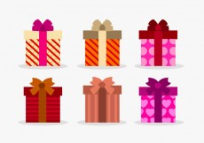 Free vector Set of vectir gift boxes #15638