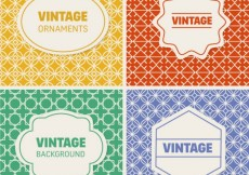Free vector Vintage backgrounds collection #17583