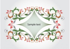 Free vector Abstract flowers background #27730