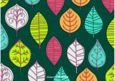 Free vector Abstract Leaves Vector Wallpaper #22848