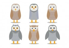 Free vector Barn Owl Vectors #25392