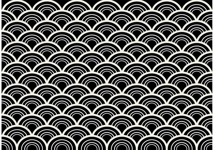 free vector black and white seamless abstract pattern vector 27592 my graphic hunt
