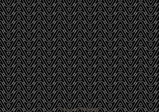 Free vector Black And White Wave Pattern #26113