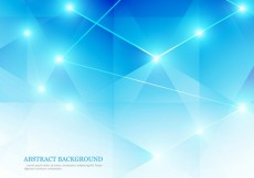 Free vector Blue abstract background in low poly style #24804