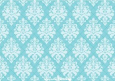 Free vector Blue Ornament Wall tapestry #26137