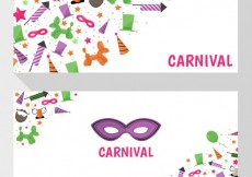 Free vector Carnival banners #21356