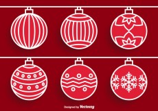 Free vector Christmas Ornament Vectors #25315