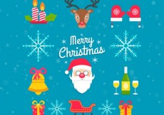 Free vector Collection of christmas characters #26739