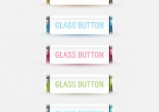 Free vector Colored glass buttons collection #25955