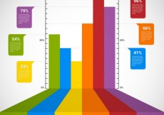 Free vector Colorful Chart #22206