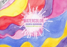 Free vector Colorful waves background #27685