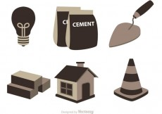 Free vector Construction Icons Vector #22295