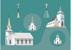 Free vector Country Church Free Vectors #22862
