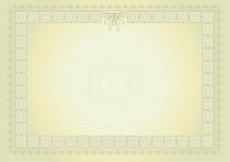 Free vector Diploma with lemon color gradient #27882