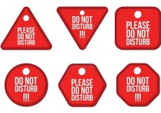 Free vector Do Not Disturb Vector Pack #23527