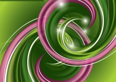 Free vector dynamic abstract spiral pattern 02 #23428