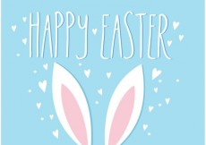 Free vector Easter Bunny Ears Vector Illustration #23128