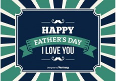 Free vector Father's Day Illustration #22661
