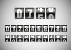 Free vector Free Counter With Number Vector #20455