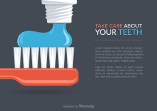 Free vector Free Dental Care Vector Background #27002