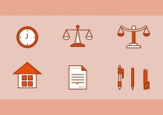 Free vector Free Law Office Vector Icons #2 #26504