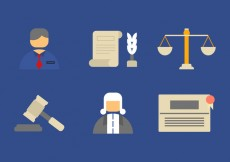 Free vector Free Law Office Vector Icons #6 #26484