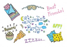 Free vector Free Slumber Party Vector Series #24855