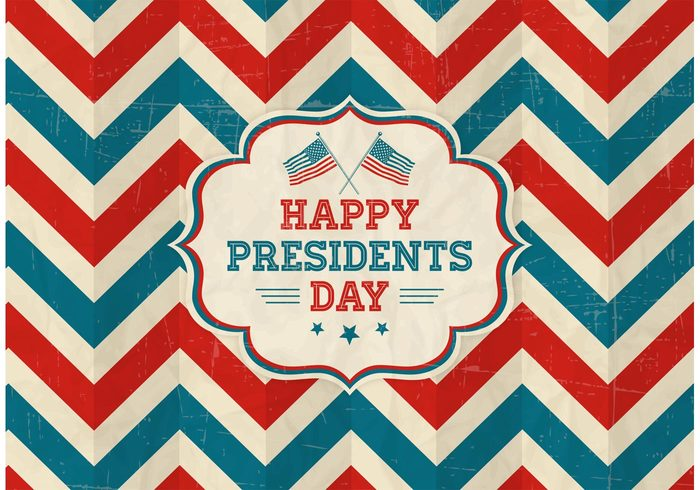 Free Vector Free Vector Happy Presidents Day Retro Background 23209 My Graphic Hunt